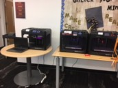 3D printers were a big hit!