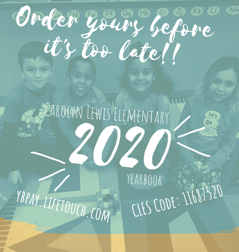 Yearbook Orders Due by 3/13