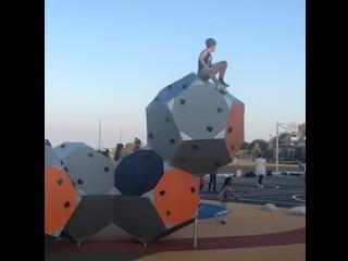 Hexagon Climbing Wall