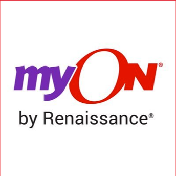 This is an image of the Renaissance myON icon and link to the myON site.