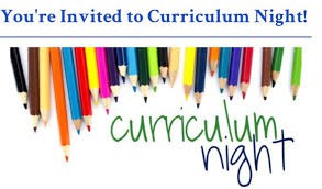 King Curriculum Night/Open House- TOMORROW, October 20th!!!