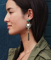 Totem Tassel Earrings - with 3 ways to wear! Were £40 now £20