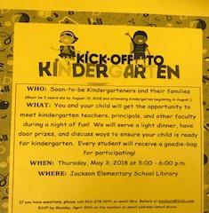 Have You Registered Your Child For Kindergarten?
