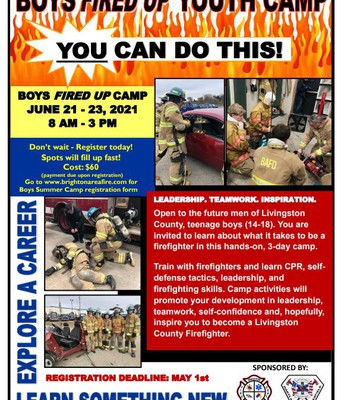 Boys on Fire Youth Camp