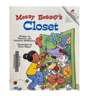 "Book Blurb: ""Messy Bessey's Closet"""