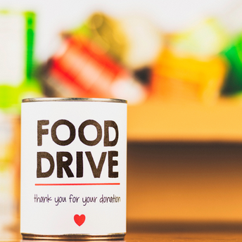 Food Drive - thank you for your donation