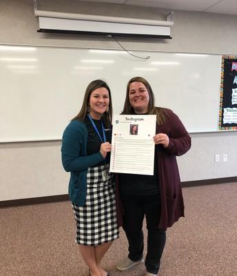 Congratulations Miss Oldroyd!