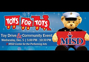MISD Toys4Tots Event Wednesday