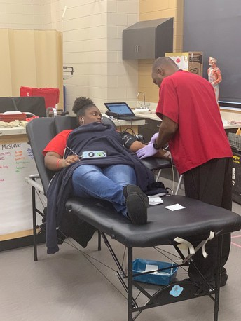 Northeast HS CTSOs Team Up For Annual Blood Drive
