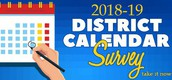 MISD 2018-19 Calendar Survey
