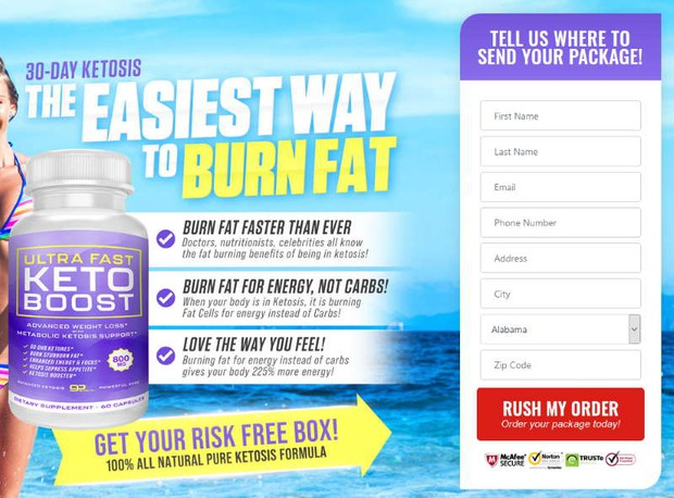 buy Ultra Fast Keto Boost