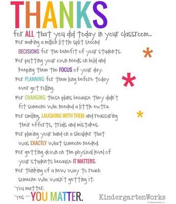 Happy Staff Appreciation Week!