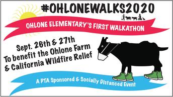 Ohlone Walk-a-Thon 9/26 & 9/27