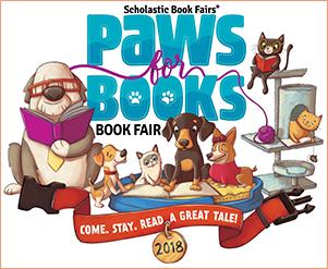 Paws for Books Book Fair - March 12  -20