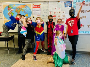 Mrs. Wilson and Her Students