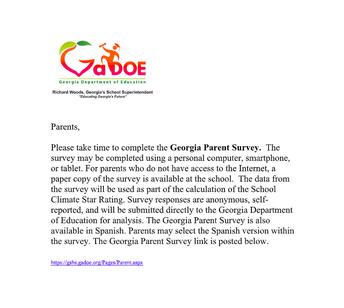Georgia Parent Survey