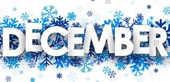 Upcoming November/December Events