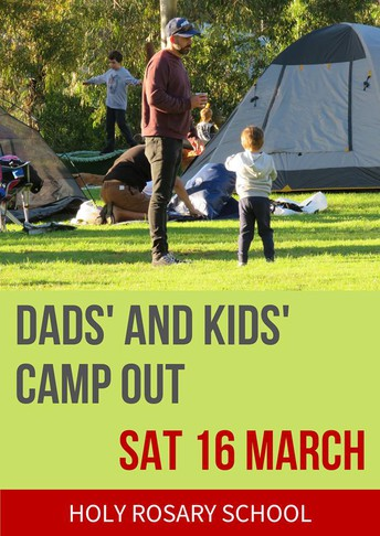 DADS' AND KIDS' CAMPOUT