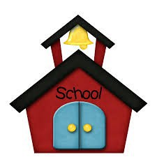 red school with bell on top