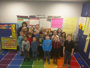 Most Improved Points - Mrs. Buell's Class