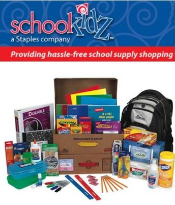 Order School Supplies by June 10th!