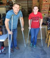 Crutch Races