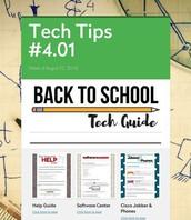 Back to School Tech Help