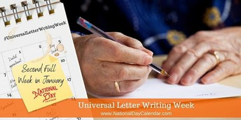 Universal Letter Writing Week