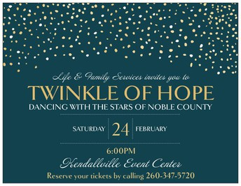 Twinkle of Hope Invitation