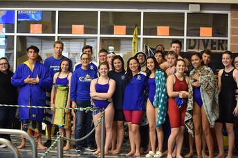 Buffs Aquatics Captures 2nd at District Swim Meet