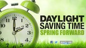 Turn Your Clocks Ahead
