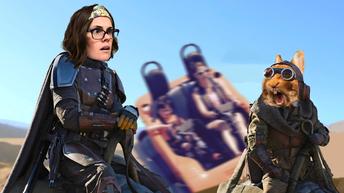 30 min Photoshop wars mashup challenge