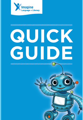 Imagine Language and Literacy Quick Guide