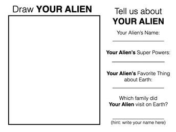 My Alien 4th Grade