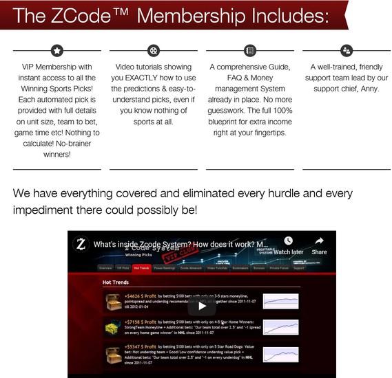 zcode system membership