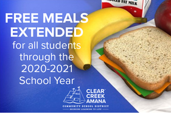 NATIONWIDE FREE SCHOOL MEAL PROGRAMS EXTENDED