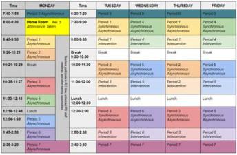 Bell Schedule Reminder