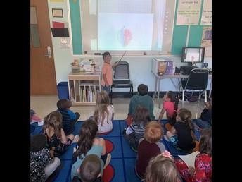 1st grade sharing their Art work!