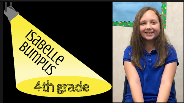 Isabelle Bumpus student spotlight video