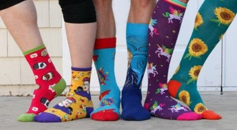 March 21 is also Crazy Sock Day!