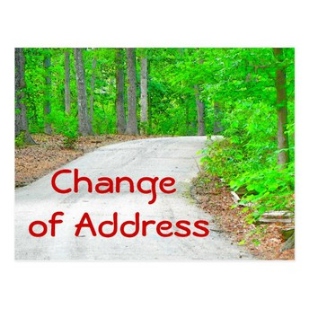 Changing Addresses this Summer?