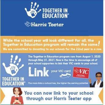 Link Your Harris Teeter account