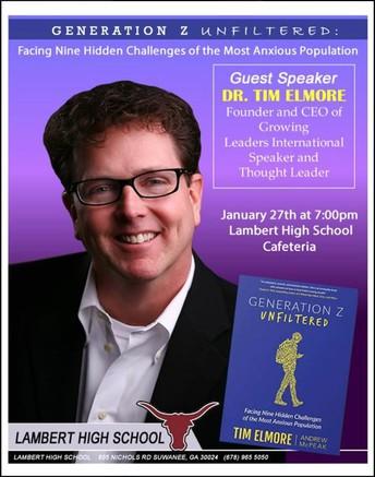 Dr. Tim Elmore Parent Night @ Lambert