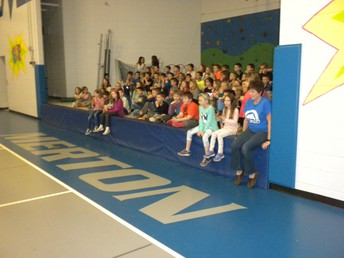 Grade two eager to cheer!