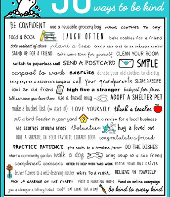 50 Ways to Be Kind