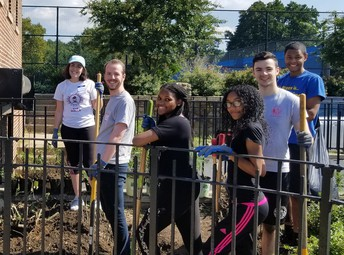 Join Fordham and Cristo Rey Harlem students in a day of service and solidarity at The Bronx is Blooming!