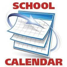 Updated School Calendar - Make-Up Days