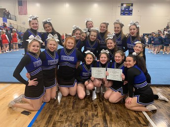 Cheerleaders Qualify for State