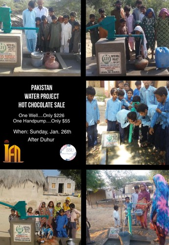 SSU : Pakistan Water Project Hot Chocolate Sale
