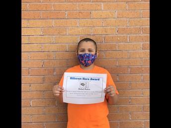 Michael Madera - 3rd Grade